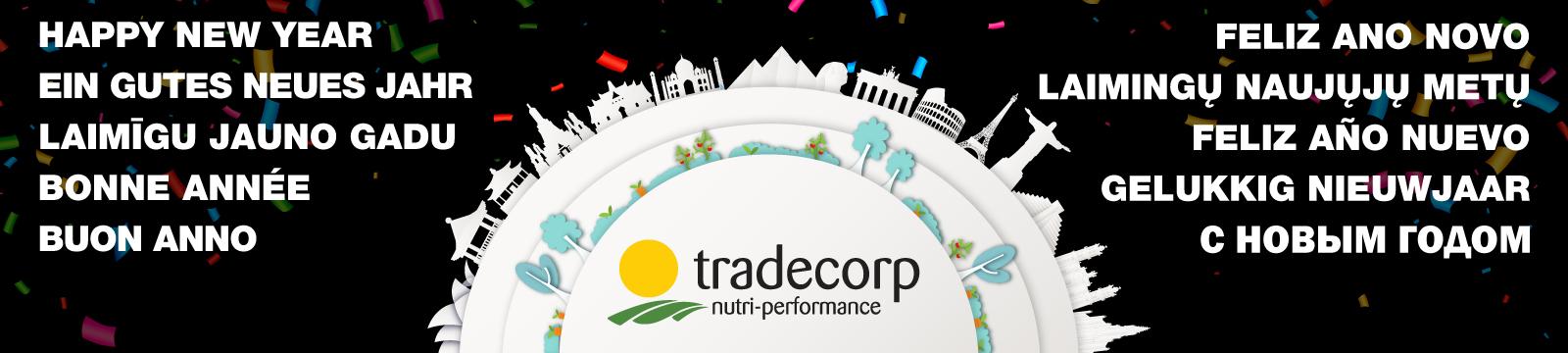 Gelukkig Nieuwjaar 2019 van Tradecorp!