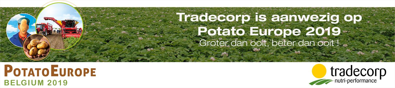 Bezoek onze stand op Potato Europe 2019!